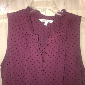 41Hawthorn sleeveless blouse